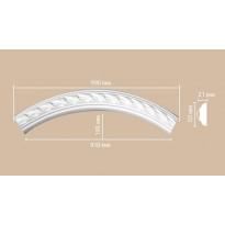 Радиус [1/4 круга] Decomaster 898061-130 (Rнар. 700 | Rвн. 650)